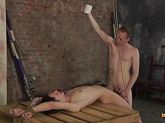 Sean Has A Slave Mouth To Feed! - Boynapped