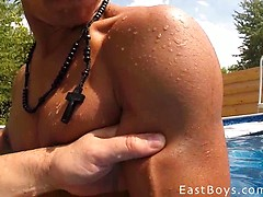 Muscle Worship - Summer Garden